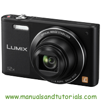 Panasonic Lumix SZ10 Manual And User Guide PDF