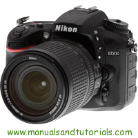 Nikon D7200 Manual And User Guide PDF