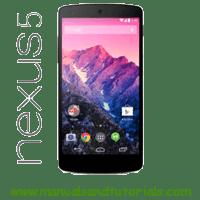 LG Nexus 5 Manual And User Guide PDF