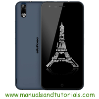 Ulefone Paris Lite Manual And User Guide PDF