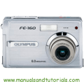 Olympus FE-160 Manual And User Guide PDF