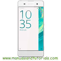 Sony Xperia XA Manual And User Guide PDF