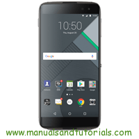 BlackBerry DTEK50 Manual And User Guide PDF