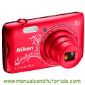 Nikon Coolpix A300 Manual And User Guide PDF