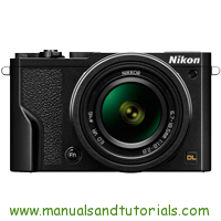 Nikon DL18-50 Manual And User Guide PDF
