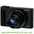 Sony DSC-HX90V Manual And User Guide PDF