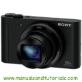 Sony DSC-WX500 Manual And User Guide PDF
