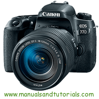 Nikon EOS 77D Manual And User Guide PDF