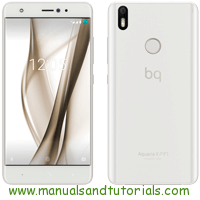 Bq Aquaris X Pro Manual And User Guide PDF