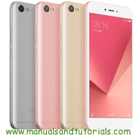 Xiaomi Redmi Note 5A Manual And User Guide PDF