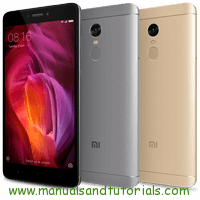 Xiaomi Redmi Note 4 Manual And User Guide PDF