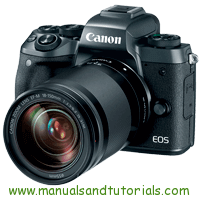 Canon EOS M5 Manual And User Guide PDF