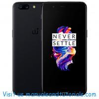 OnePlus 5 5T Manual And User Guide PDF
