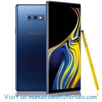 Samsung Galaxy Note 9 Manual And User Guide PDF