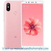 Xioami Mi A2 | A2 Lite Manual And User Guide PDF