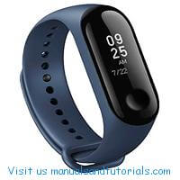 Xiaomi Mi Band 3 Manual And User Guide PDF