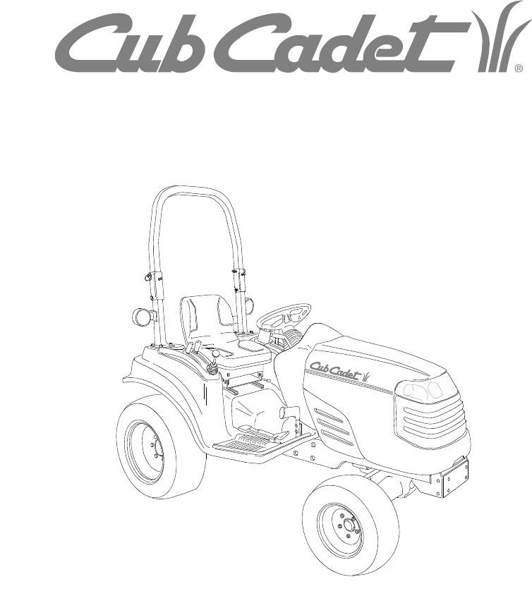 Cub Cadet 7284 manual