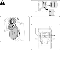 if also replacing the drive belt proceed to the drive belt instruction if not reposition the transmission frame back onto the auger housing  [ 2116 x 2222 Pixel ]