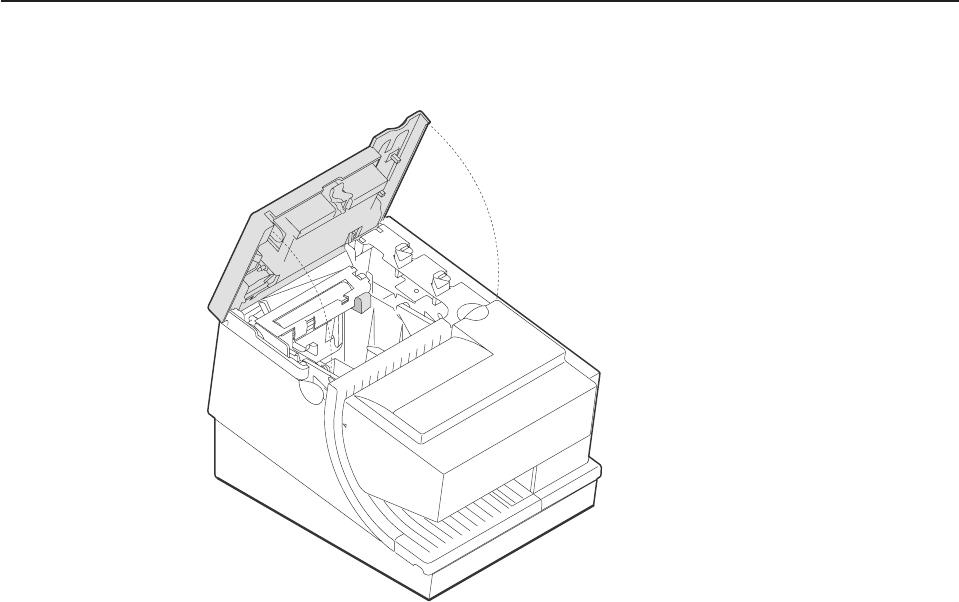IBM 4610 Carga del papel