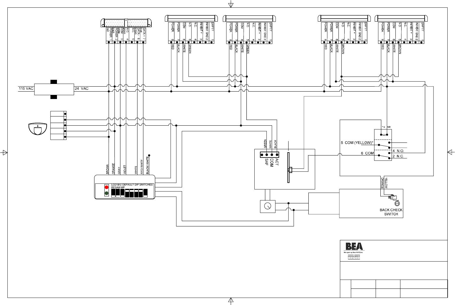 Horton Series Wiring Diagram