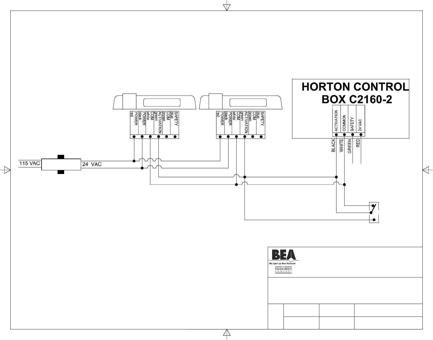 horton c2150 wiring diagram 1996 dodge caravan trailer door operator diagrams 36