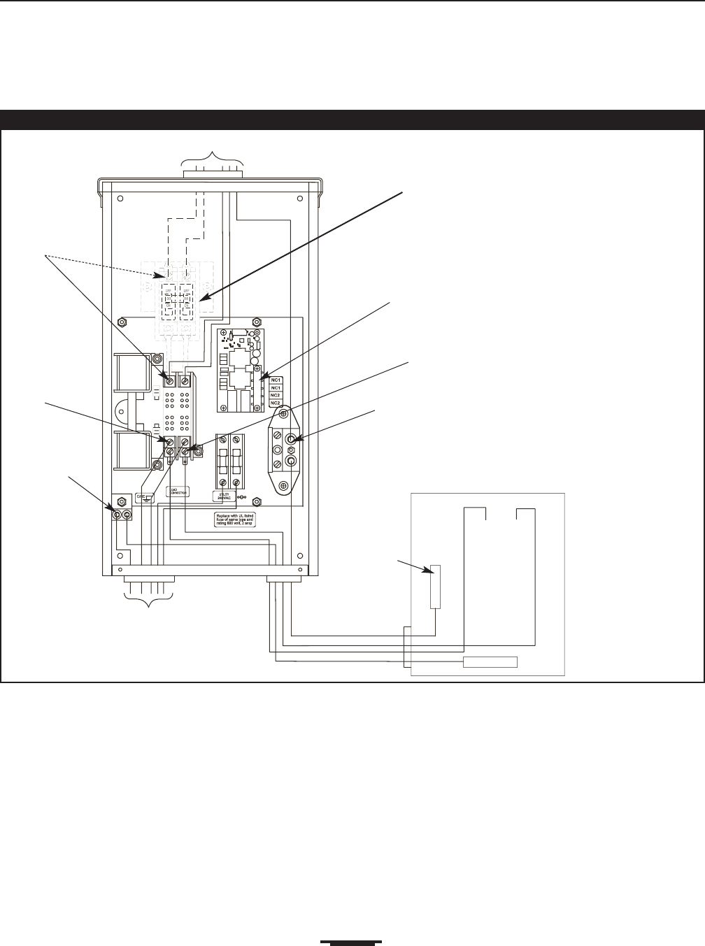 Transfer Switch Schematic Diagram
