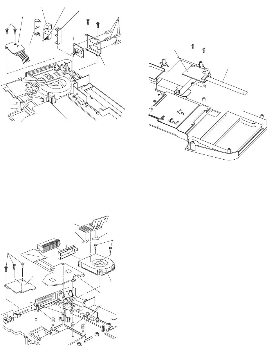 Panasonic CF-74JCJBD1 M 9.1.12. Removing the DC-IN PCB and