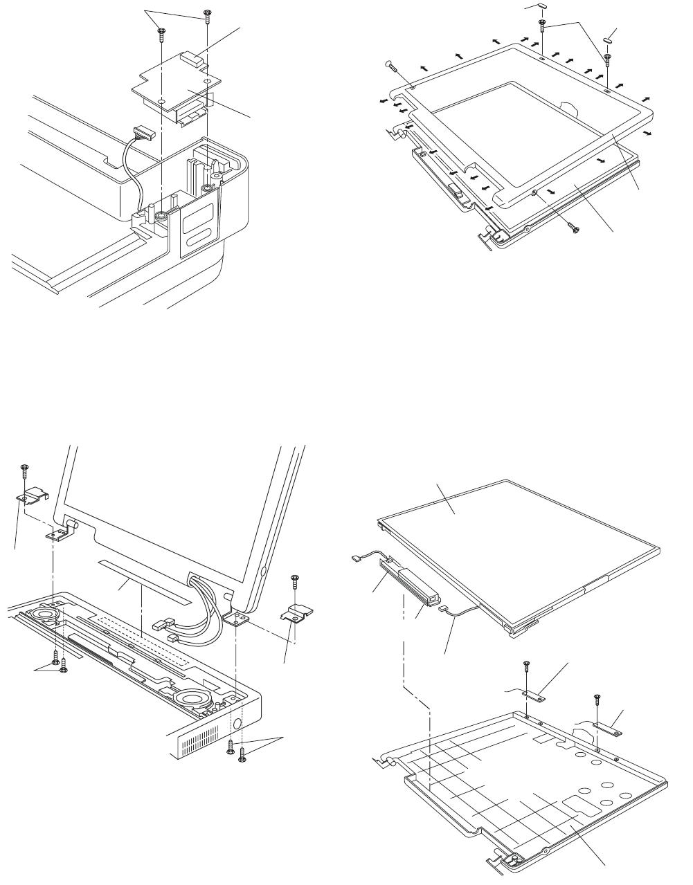 Panasonic CF-74JCJBD1 M 9.1.15. Removing the USB PCB, 9.1