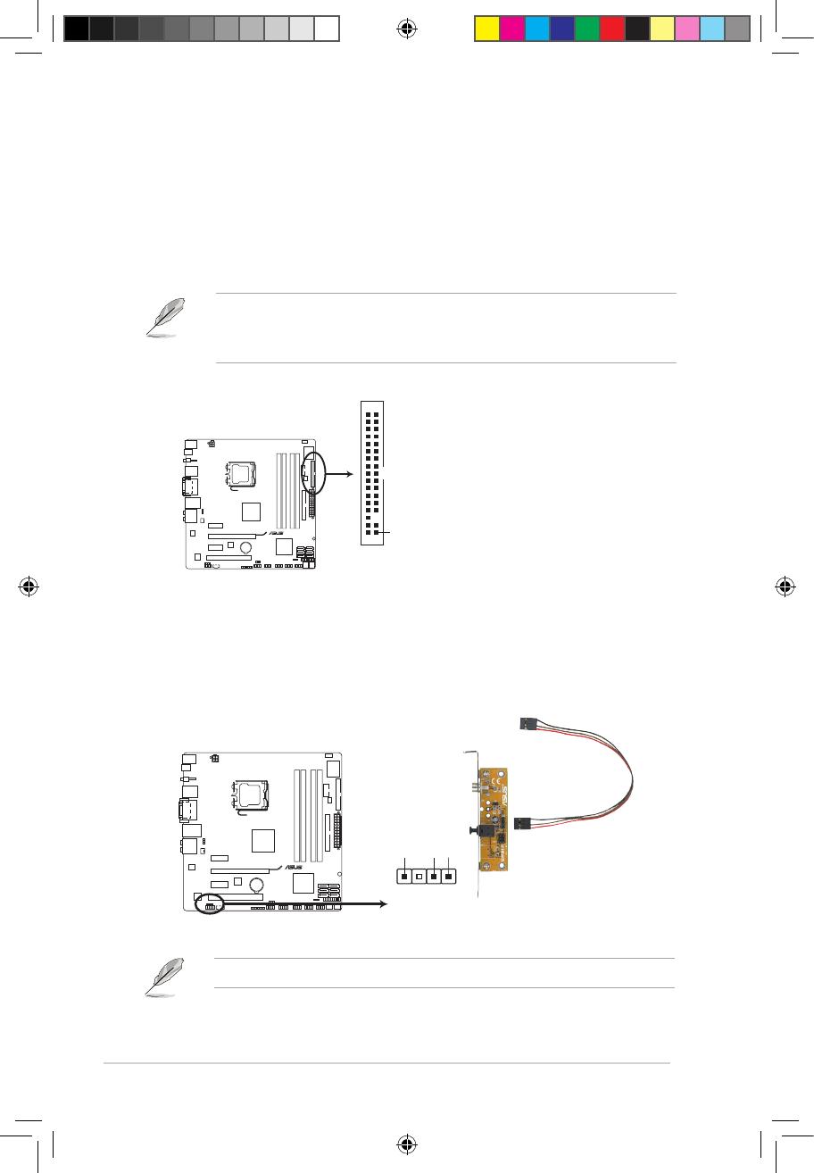 Asus P5Q-EM DO 1.10.2 Internal connectors