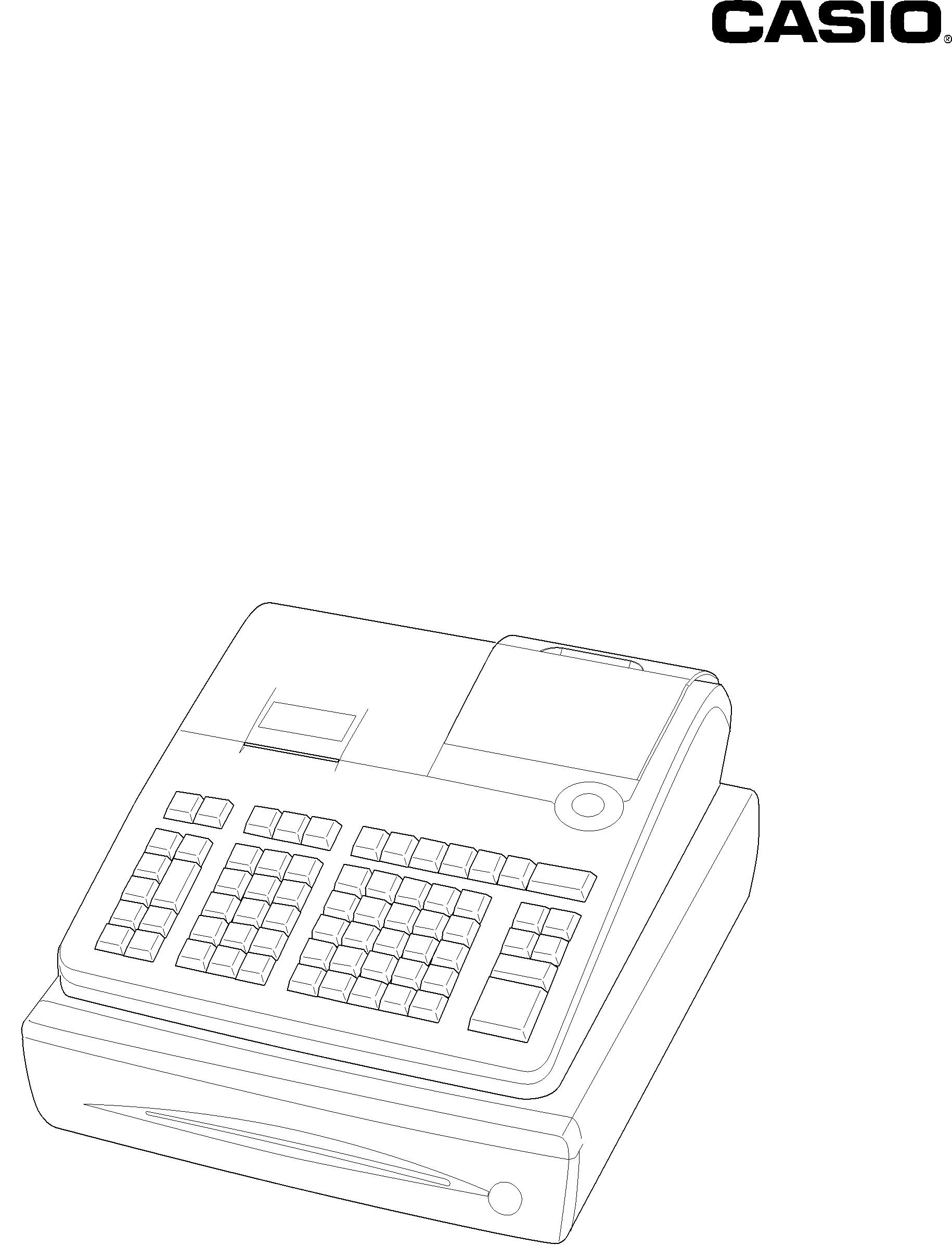 Casio SE-S400 manual