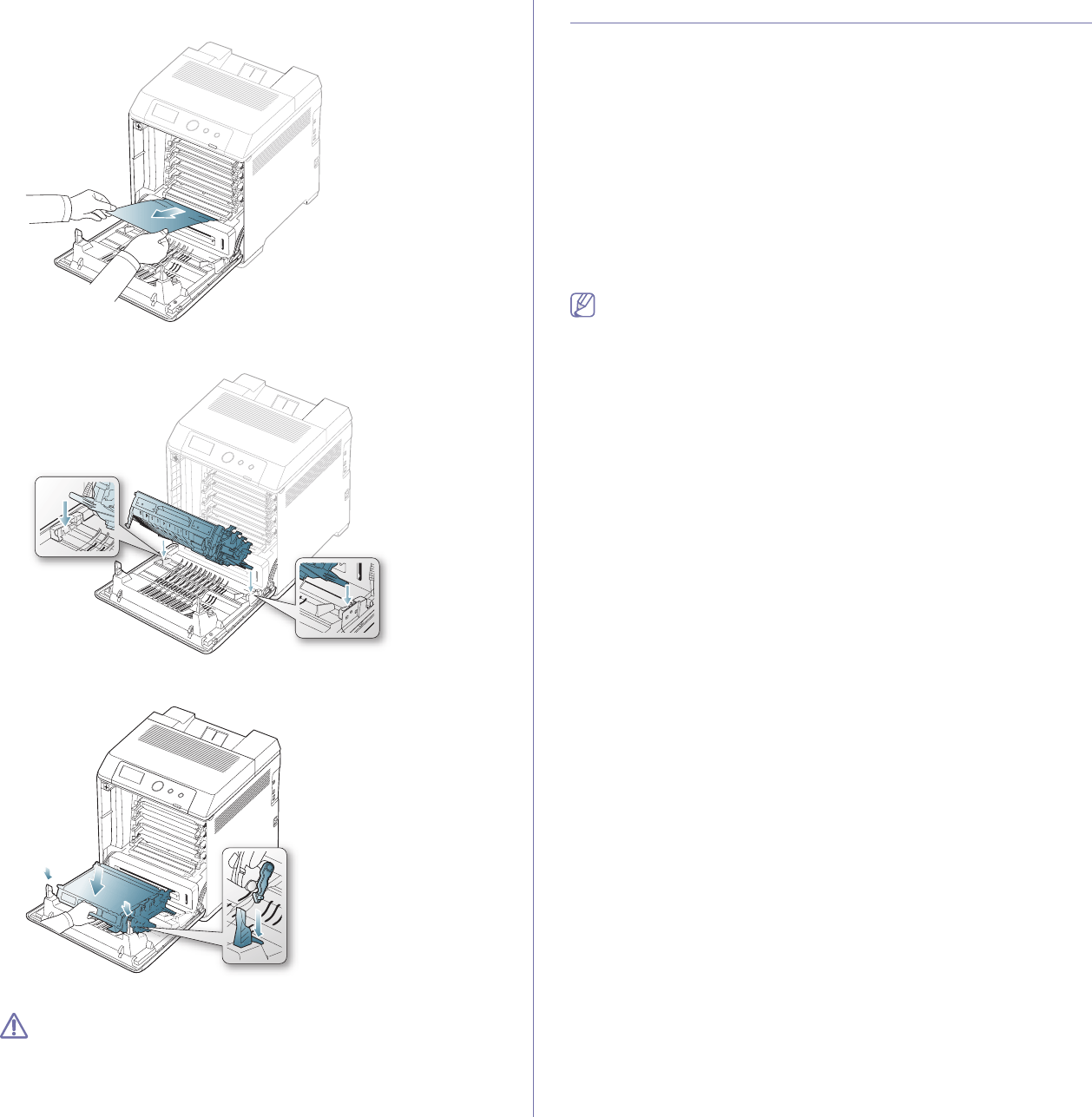 Samsung CLP-775 SERIES, CLP775ND Understanding display
