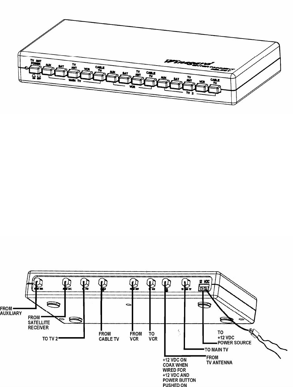 Winegard VS-0503, VS-5312 manual