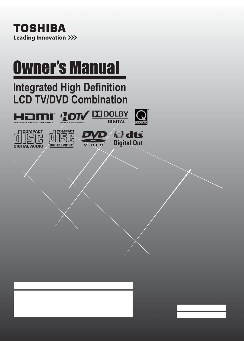hight resolution of toshiba 15cv100u 15cv101u 19cv100u 22cv100u 26cv100u 32cv100u manual