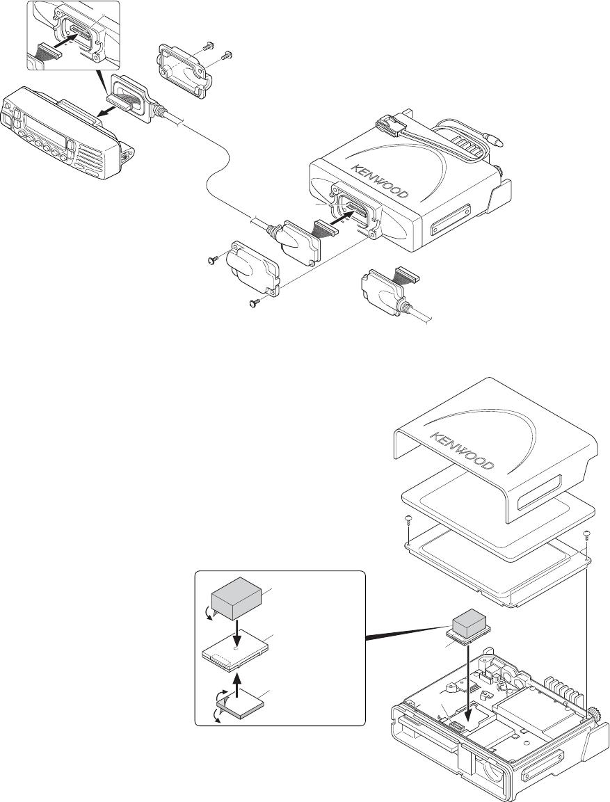 Kenwood TK-7180 5. , Voice Guide & Storage Unit (VGS-1