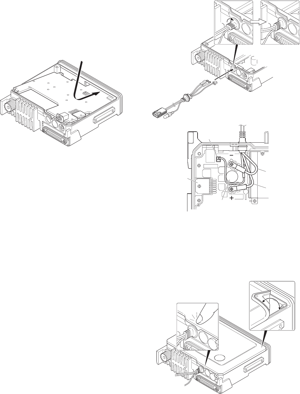Kenwood TK-7180 2. Precautions on Reassembly