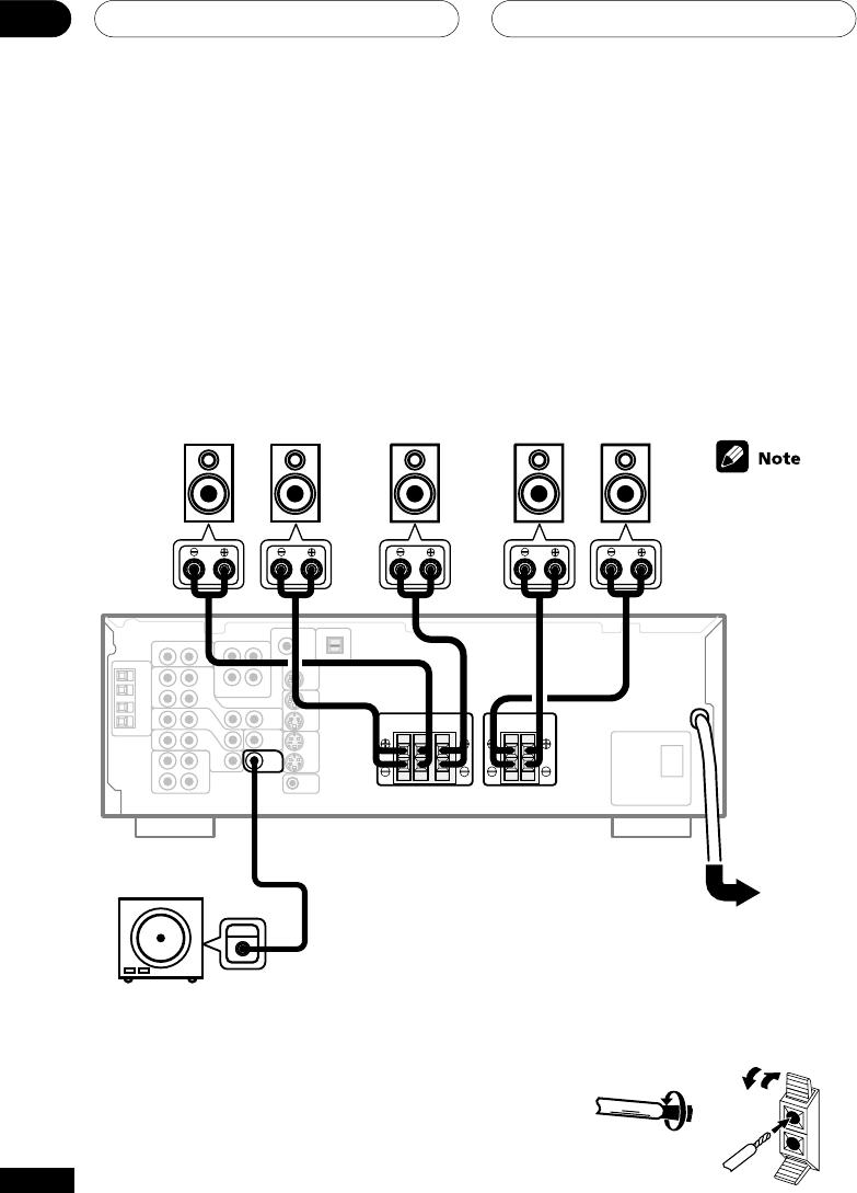 Pioneer audio/video multi-channel receiver, vsx-d412, vsx