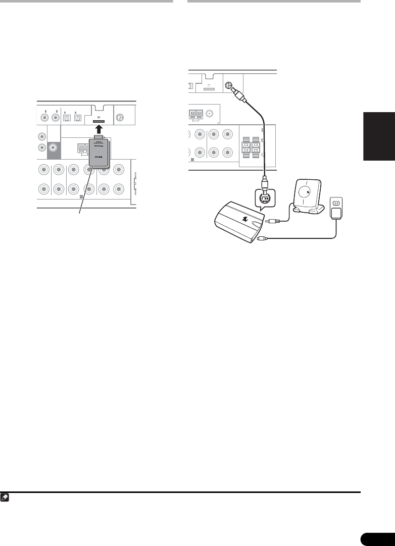 Pioneer 1020 Conexin del ADAPTADOR Bluetooth, opcional
