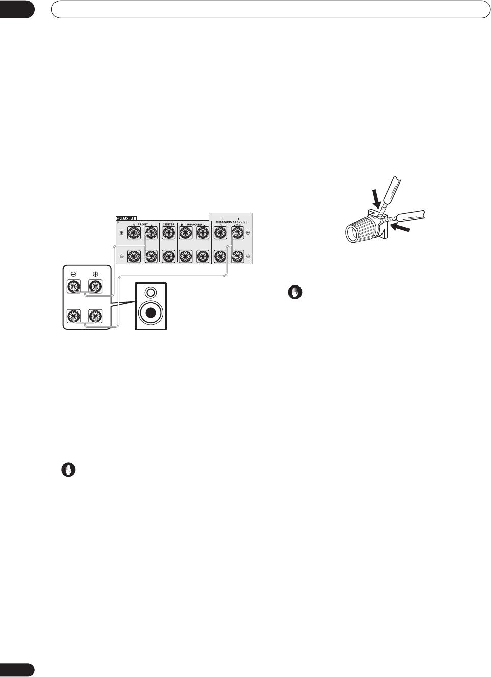 Bi Wiring Speaker Diagram