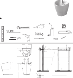 american standard 9118 1 9118 111 9118 15 icu sink system installation instructions [ 1017 x 1362 Pixel ]