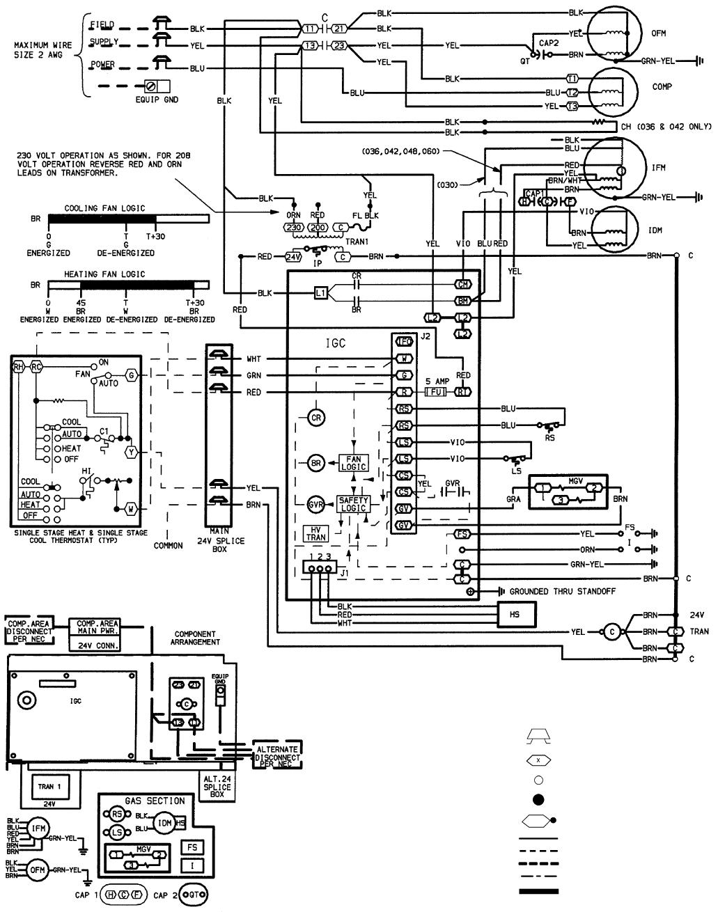 Bryant Air Handler Wiring Diagram