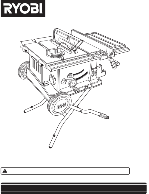 small resolution of  ryobi bts20r manual on ryobi bts15 rip fence used ridgid table saw ryobi bts15 ryobi bts table saw wiring diagram