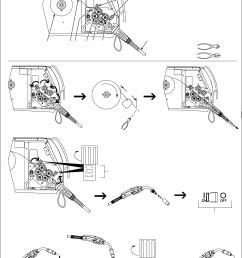 miller electric 350 350p millermatic 350 manual  [ 1009 x 1407 Pixel ]
