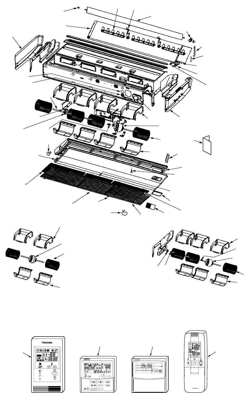 Toshiba RAV-SM1102BT-E, RAV-SM1102CT-E, RAV-SM1103UT-E