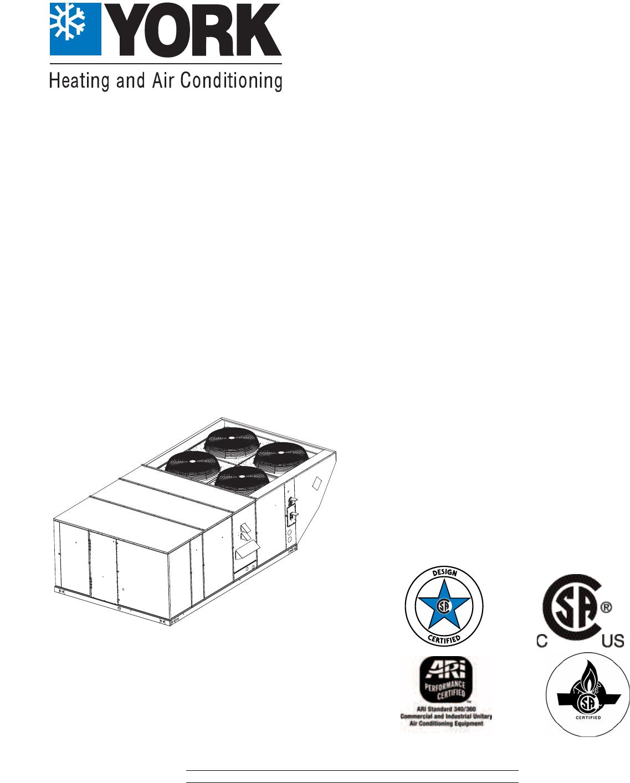 York R-410A manual