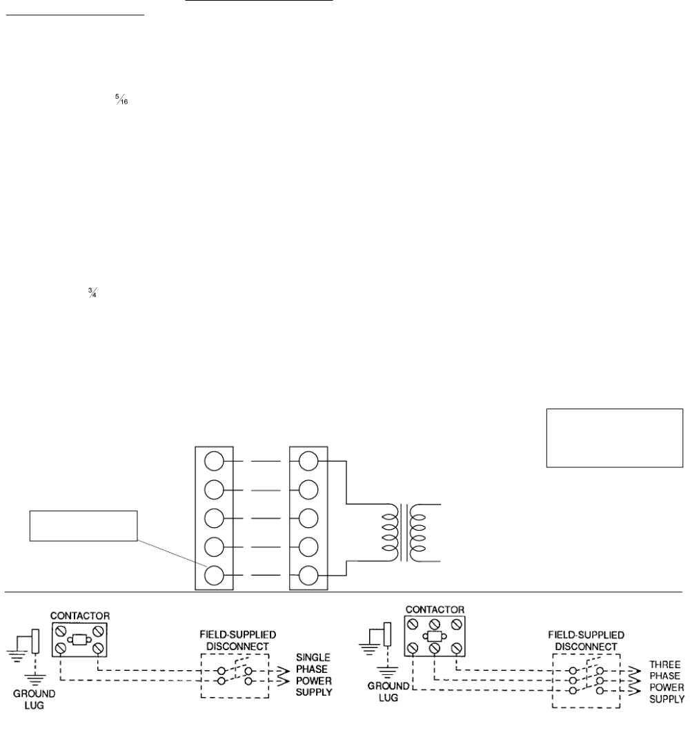 medium resolution of 1 typical field wiring diagram condensate drain service access thermostat power and control wiring compressors