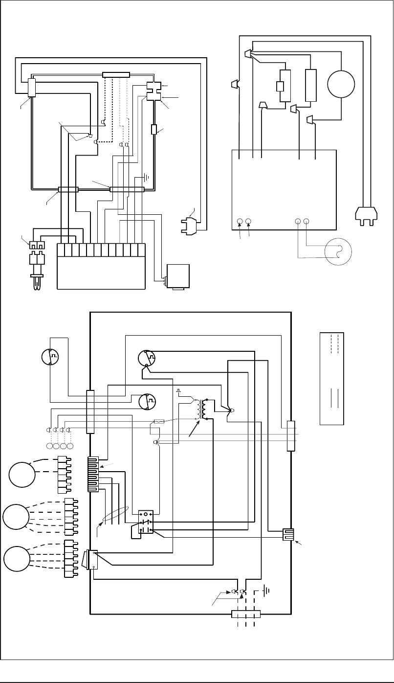 Nordyne M1B, M1G, M1M, M1S Figure 45. Gas and Oil Furnaces