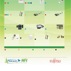 Fujitsu Aou24rlxfz Wiring Diagram 1996 Honda Accord Aou18rlxfz Aou36flxfz Hybrid Flex Inverter System Optional Accessories