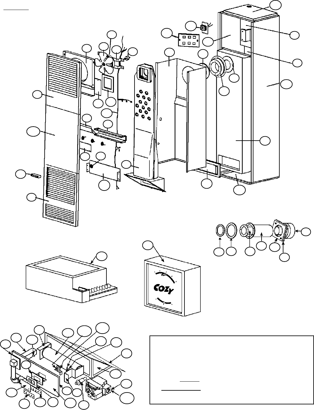hight resolution of direct vent counterflow wall furnace
