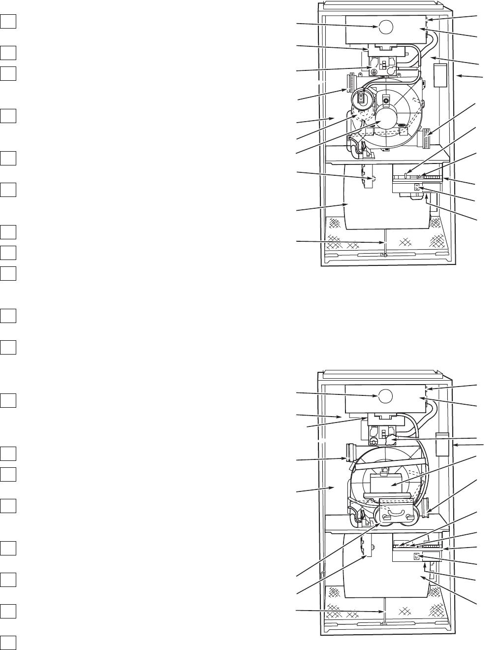Bryant 350MAV, 352MAV, 355MAV FURNACE COMPONENTS, , MODELS