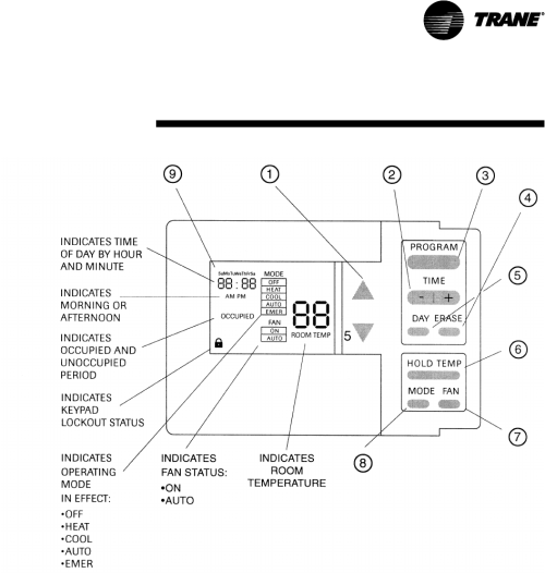 small resolution of trane voyager thermostat wiring diagram american standard basic thermostat wiring trane weathertron thermostat wiring diagram